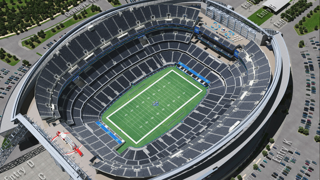 Cotton Bowl Virtual Venue By Iomedia